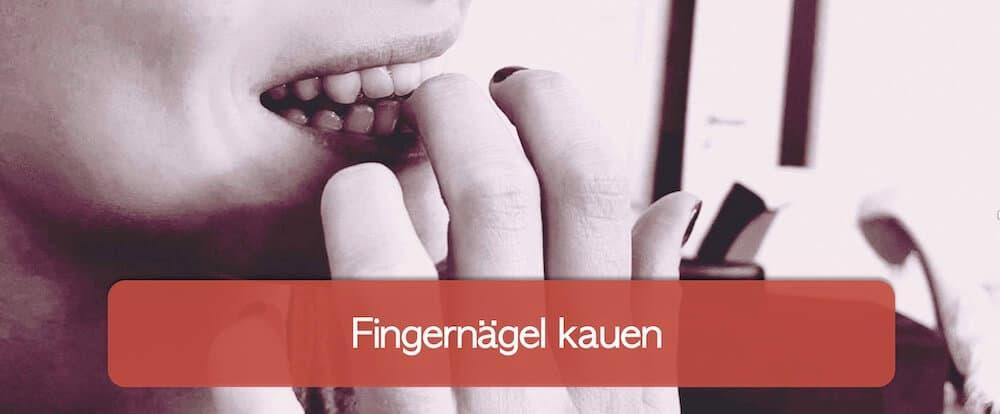 You are currently viewing Fingernägel kauen: wie kann man damit aufhören?
