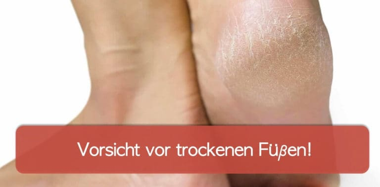 Trockene Füße sind häufig ein Problem. Mit der richtigen Pflege lässt sich dieses beheben.