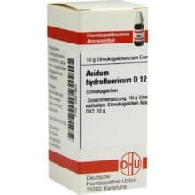 Acidum hydrofluoricum D12 gegen Nagelpilz