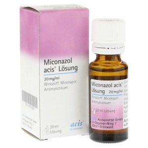 Miconazol Lösung hilft gegen Hautpilz