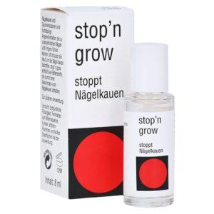 Stop n grow Nagellack hilft beim Abgewöhnen von Nägelkauen