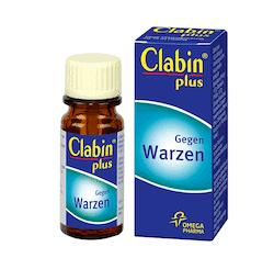 clabin plus gegen warzen
