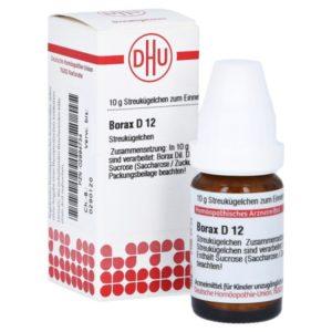 Borax D 12 Globuli gegen Hautpilz
