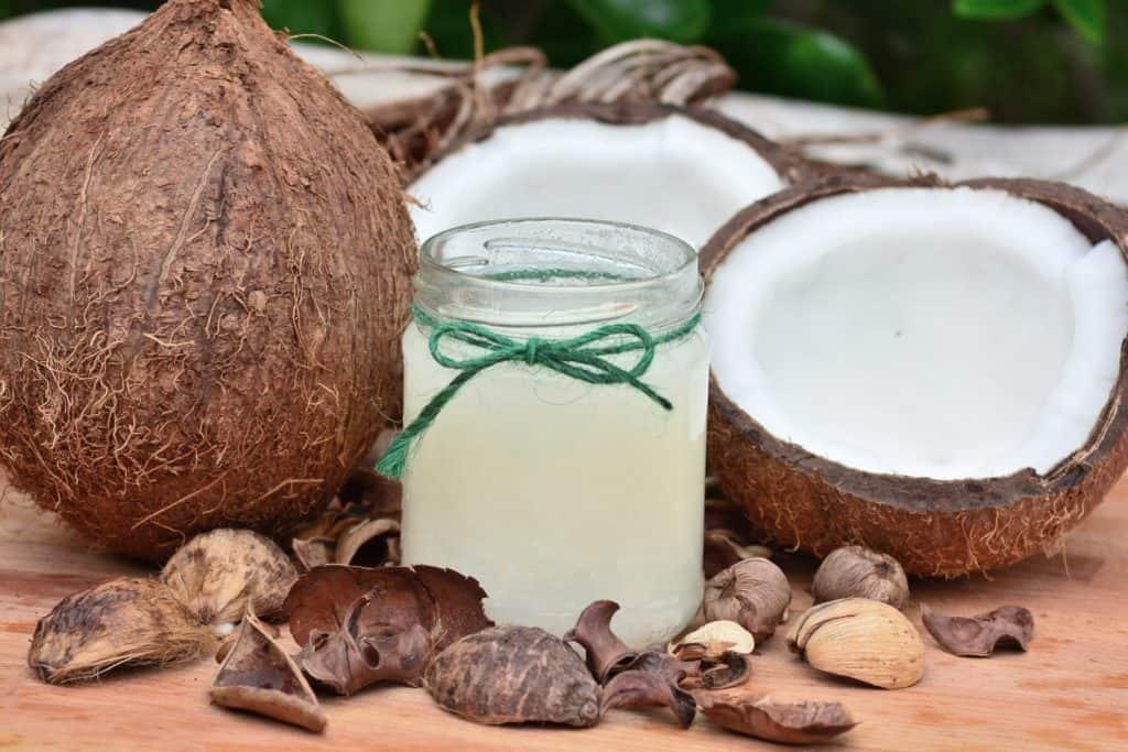 Kokosnuss als Hautpilz-Hausmittel