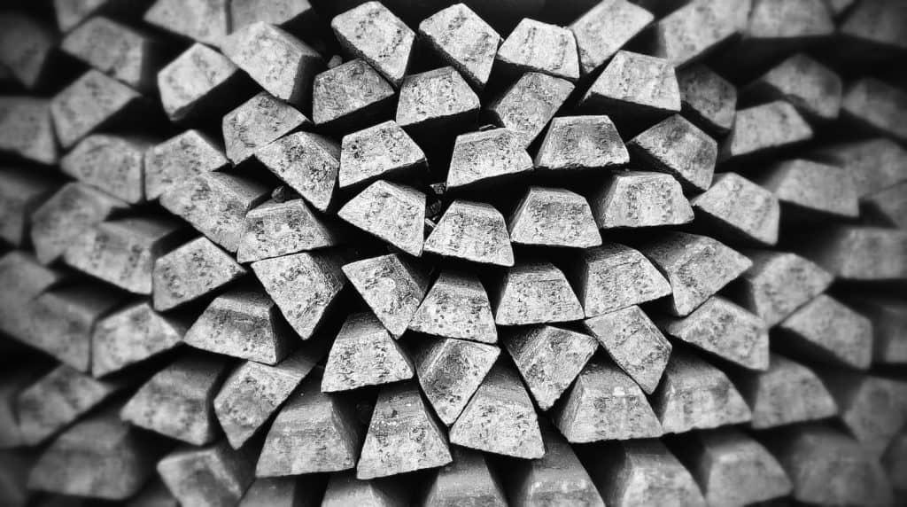 Silberstäbe zur Herstellung von kolloidalem Silber mittels Elektrolyse