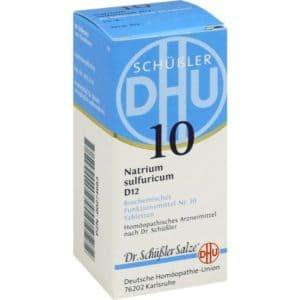 Schüßler-Salz Nr. 10 Natrium sulfuricum