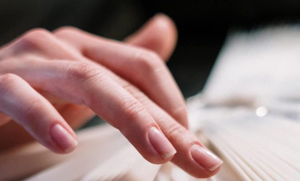 Natürliche Fingernägel ohne Lack