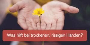 Read more about the article Trockene, rissige Hände: Creme, Hausmittel und Tipps!