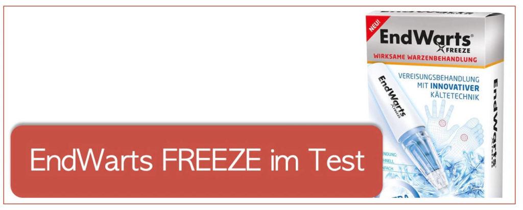 EndWarts FREEZE im Test und Erfahrungen