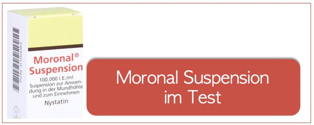 Moronal Suspension im Test