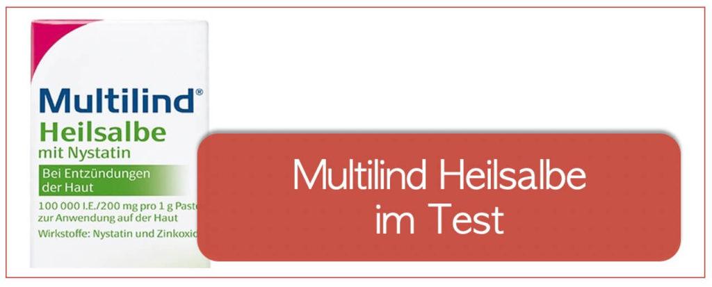 Multilind Heilsalbe im Test