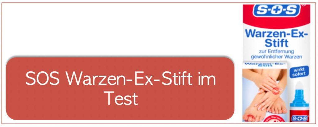 SOS-Warzen-Ex-Stift im Test