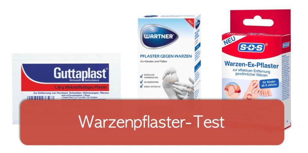 Warzenpflaster Test: Guttaplast, Wartner Pflaster, SOS Warzen-Ex-Pflaster