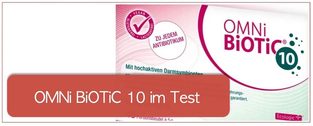Omni biotic 10 aad Test