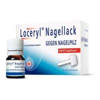 Loceryl Nagellack ist ein sehr gutes Medikament für die Behandlung einer Pilzerkrankung auf den Fußnägeln.